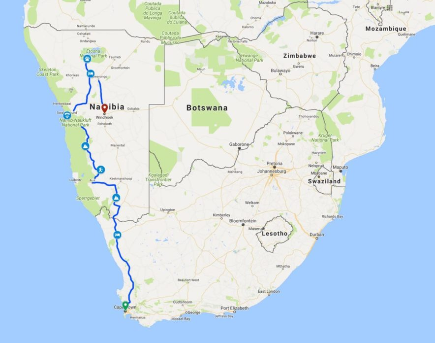 Safari Groepsreis Lodges - 12 DAGEN KAAPSTAD, NAMIB WOESTIJN, ETOSHA & WINDHOEK (NAMIBIË) 45